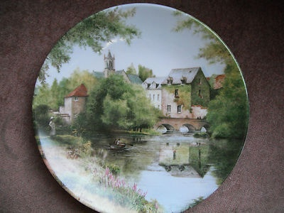 Limoges Ltd Edition Collector Plate French Country Scene Artist Michel Julien   eBay