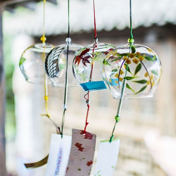Japanese Style Clear Wind Chime From Apollo Box Glass Wind Chimes Wind Chimes Japanese Wind Chimes