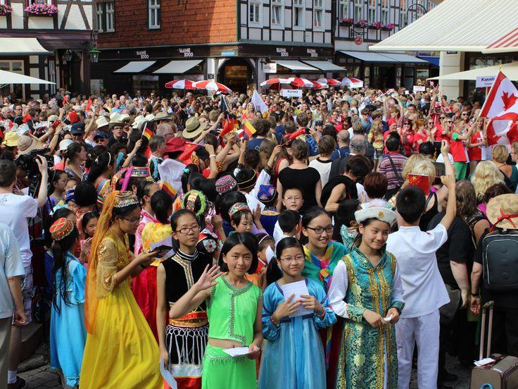 Am 18. Juli 2013 fand die große Eröffnungsfeier auf dem Wernigeröder Marktplatz statt