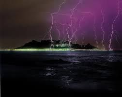 Image result for cape town lightning pics