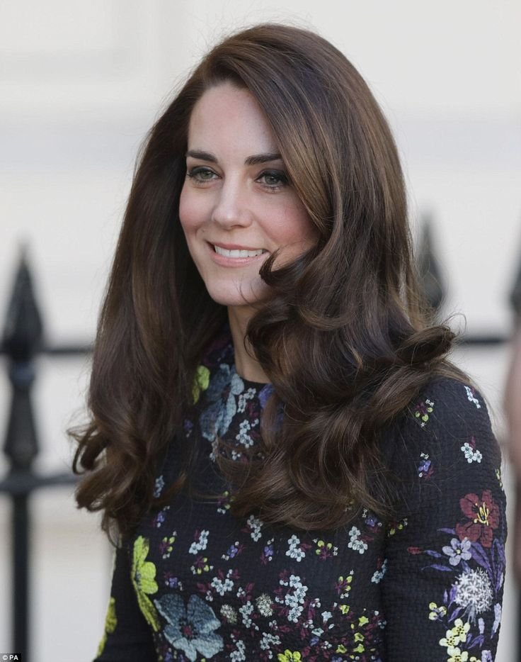She's famed for her glossy brunette locks, but the Duchess of Cambridge's hair was looking...