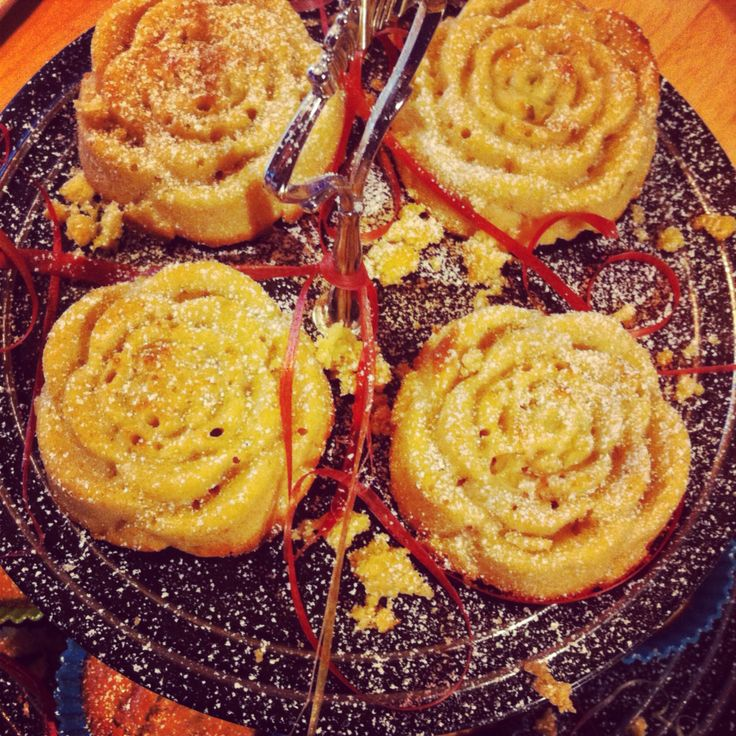 Muffins rosor