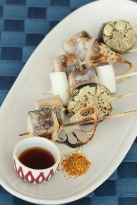 太刀魚と野菜の串焼き by Fujiレシピ [クックパッド] 簡単おいしい ...