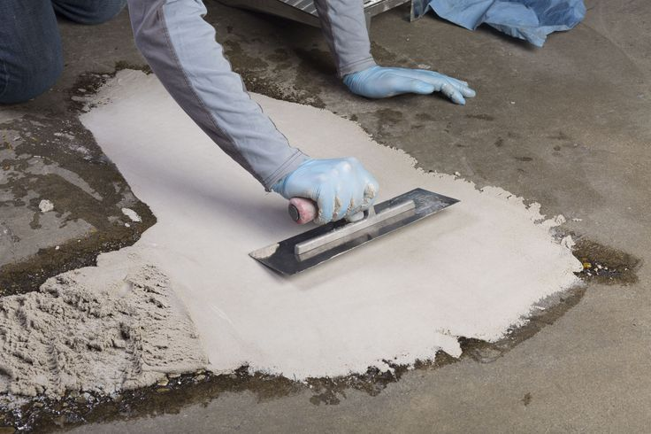 Concrex® Epoxy Resin Mortar – Concrete Hole Repair over twice the strength of concrete it fills holes permanently indoors and out