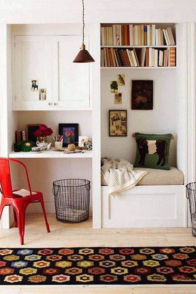 Vintage Feel - The Cloffice AKA The Ultimate Small Space Multitasker - Photos