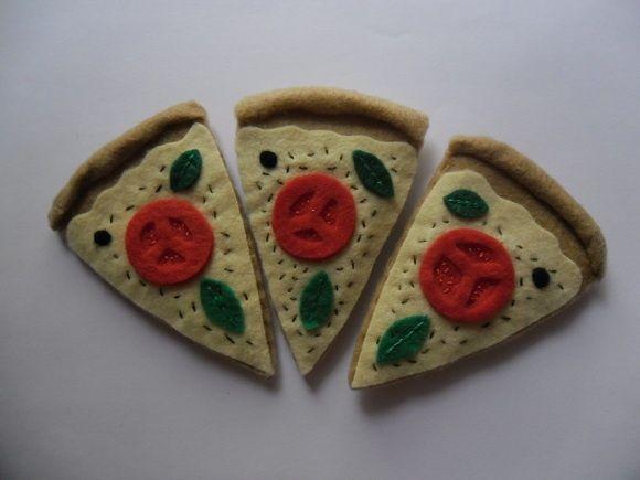 Pizza de feltro