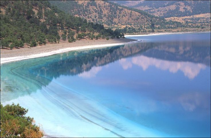 Salda Gölü, Burdur, Türkiye.