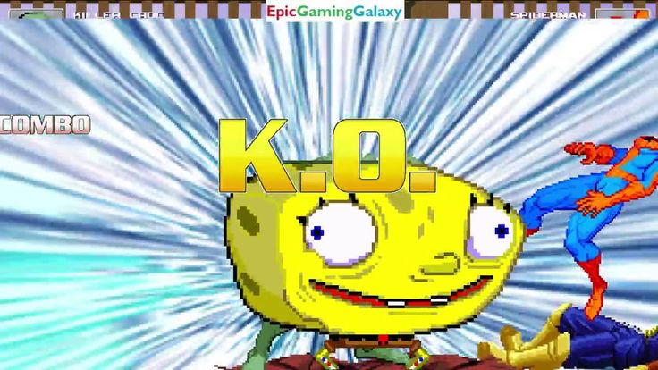 SpongeBob SquarePants & Killer Croc VS Captain Falcon & Spider-Man In A MUGEN Match / Battle / Fight This video showcases Gameplay of SpongeBob SquarePants And Killer Croc The Supervillain VS Captain Falcon From The F-Zero Series And Spider-Man The Superhero In A MUGEN Match / Battle / Fight