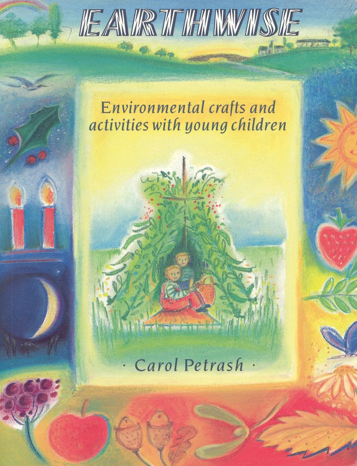 Earthwise: Environmental Crafts and Activities with Young Children by Carol Petrash AU$33.95  |  NZ$34.74 #Earth #Environmental #Crafts #Activities #Children