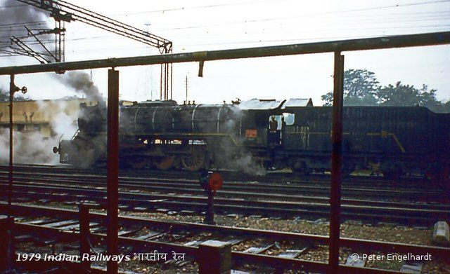 Dampflokomotive Indian Railways