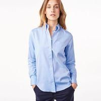 SHOP | Classic Blue Womens Oxford Shirt