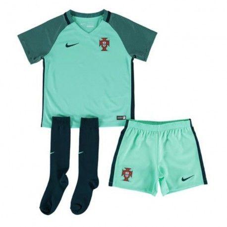 Maillot Portugal Euro Enfant 2016 Extérieur