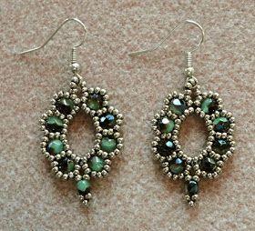 Linda's Crafty Inspirations | beaded earrings