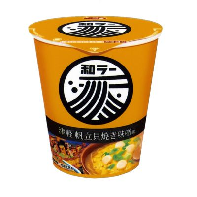 サッポロ一番 和ラー <津軽 帆立貝焼き味噌風> - 食@新製品 - 『新製品』から食の今と明日を見る!