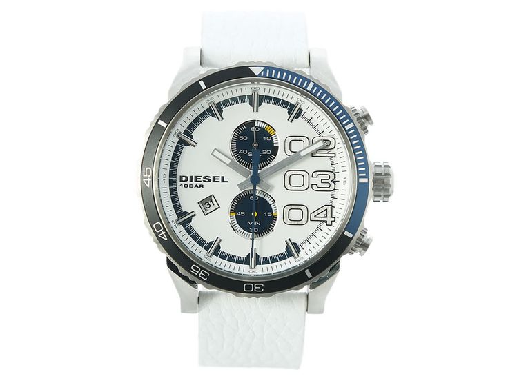 Reloj Diesel Double Down 2 Blanco 48