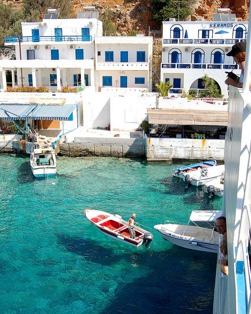 #travelcolorfully docked: Greece Vacations, Dreams, Boats, The Village, Places, Greek Islands, Crete Greece, Greek Isle, Vacations Travel