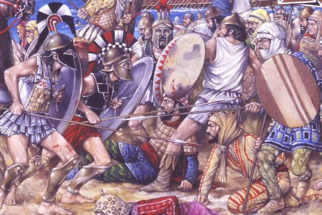 the persian wars how the greeks The persian wars: greece's finest hours get down to basics with this easy-to-read article describing the greeks' mighty struggles against the mighty persians includes maps and timeline, as well as interactive windows describing each of the four important battles.