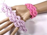 Tina's handicraft : crochet cord No 8