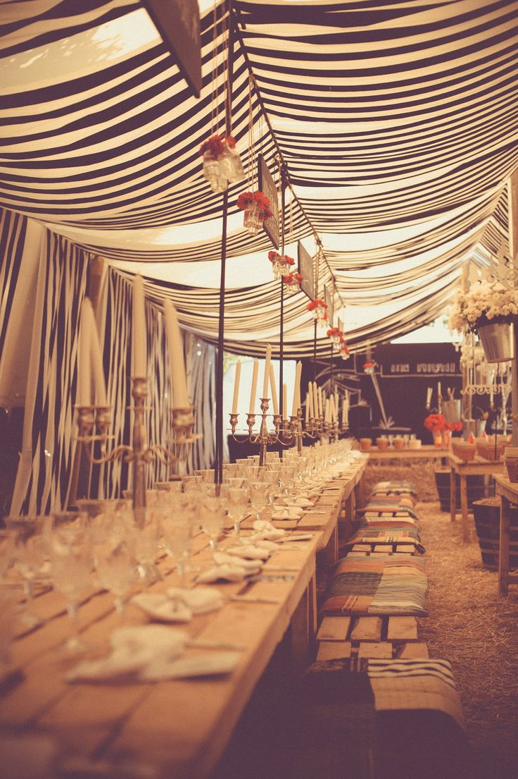 Inside The Night Circus Dinner Tent Carnivale