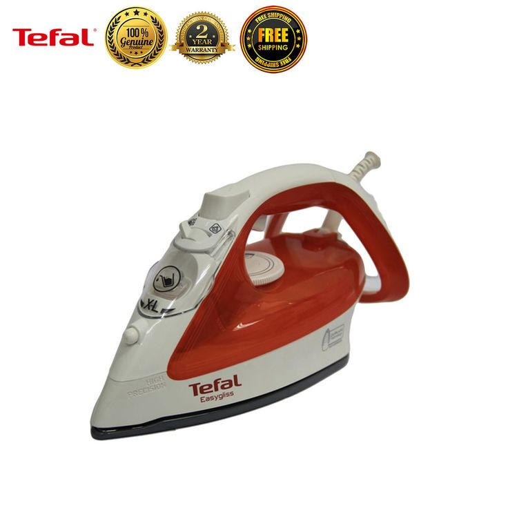 Tefal FV4020 Garment Steamer Fabric Powerful Steam Iron Clothes Laundry New #Tefal
