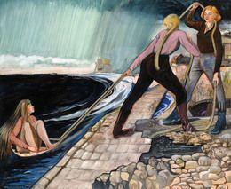 Rosa Loy, 'Landung,' 2011, McClain Gallery