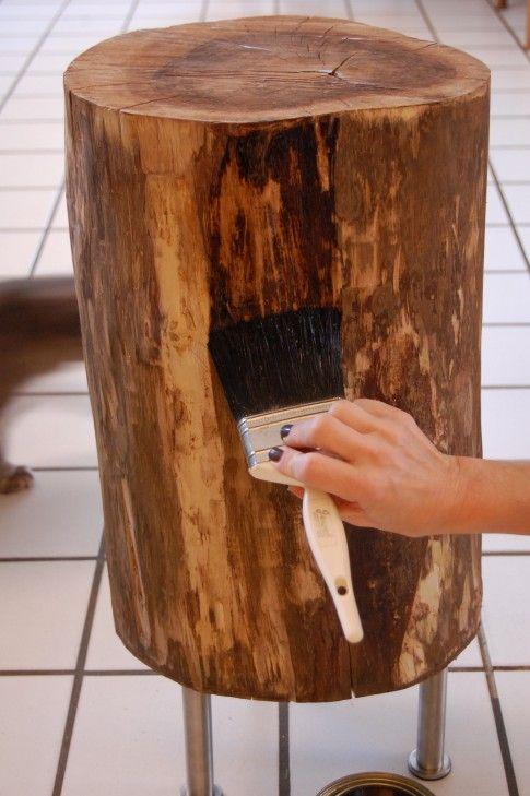 preserving a stump