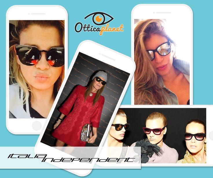 Per un look a prova di vip, scegli gli occhiali di ITALIA INDEPENDENT! www.otticaplanet.com  #Occhiali #Lenti #Eyewear #Sunglasses #OcchialidaSole #VISTA #SuMisura #LentiaContatto #Glasses #OTTICO #Ottica #Fashion #Occhi #Prada #LED #RayBan #Moda #skiing #winter