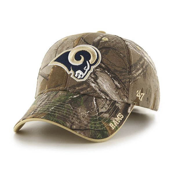 Los Angeles Rams Realtree Frost Realtree 47 Brand Adjustable Hat