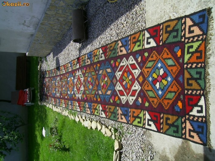 Traditional Romanian carpet