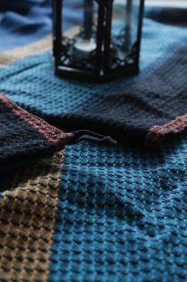 Martje: Textiles for sauna by Jenna Marttila