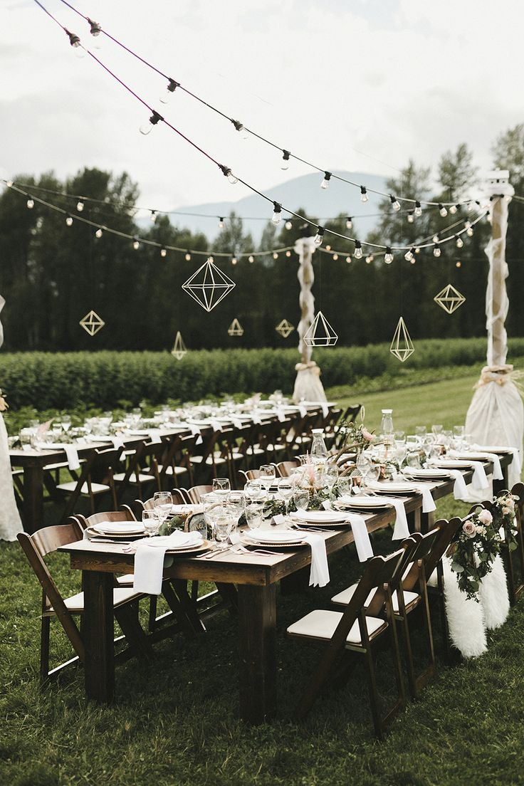 Italian bistro cafe string light rental for wedding reception in - Eclectic Boho Wedding With Charming Rustic Touches