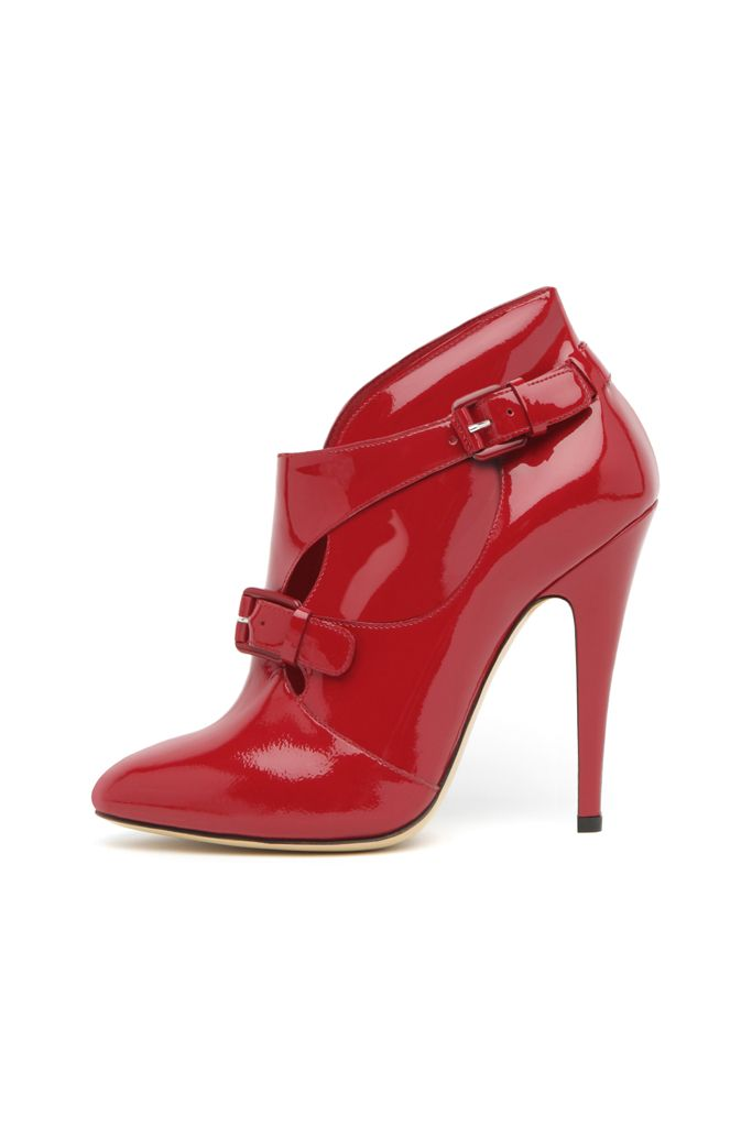 fall 2012, Casadei, shoes, high heels, boots + booties, red