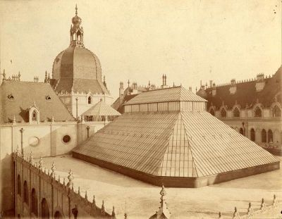 Budapest - Architectural photograph - original roofing, Museum of Applied Arts.  Épületfotó - az Iparművészeti Múzeum eredeti tetőszerkezete. http://www.artnouveau-net.eu/