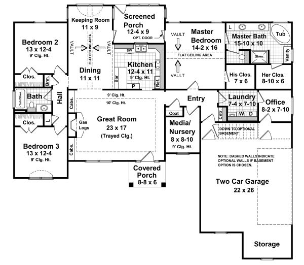 House Plan No.210002 House Plans by WestHomePlanners.com  *****