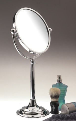 Classic Freestanding Bathroom Mirror Tall Shown In Chrome But Other Finishes Available Made