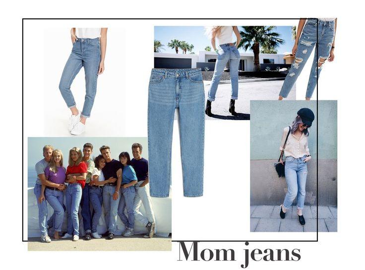Min absoluta favorittrend just nu är Mom jeansen. Eller egentligen alla trender som återfångar Beverly Hills 90210's första 4 säsonger. Jag växte upp men den serien och har alltid älskat den stilen…