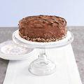 Ukranian walnut chocolate cake