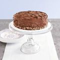 Ukranian walnut chocolate cake