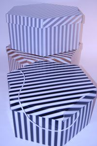 Hat Boxes (Hexagonal) - View More Images