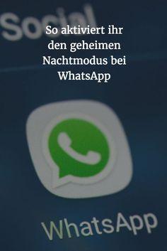 WhatsApp has a hidden night mode