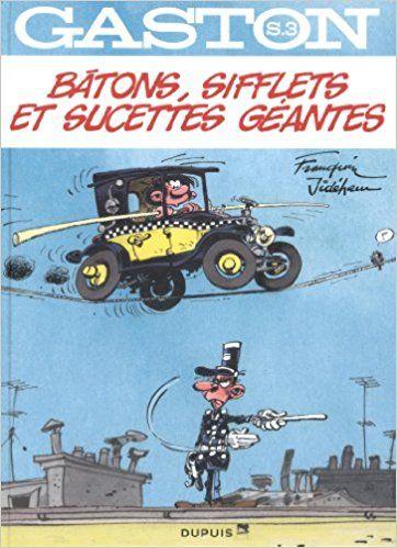 Bande Dessinée  - Gaston hors-série - tome 3 - Bâtons, sifflets et sucettes géantes - André Franquin, Jidéhem, Frédéric Jannin - Livres
