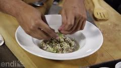 Un plato de la alta cocina, con sabor criollo.  El chef Piñeiro te trae esta semana, una de las recetas favoritas de su familia: risotto de gandules.