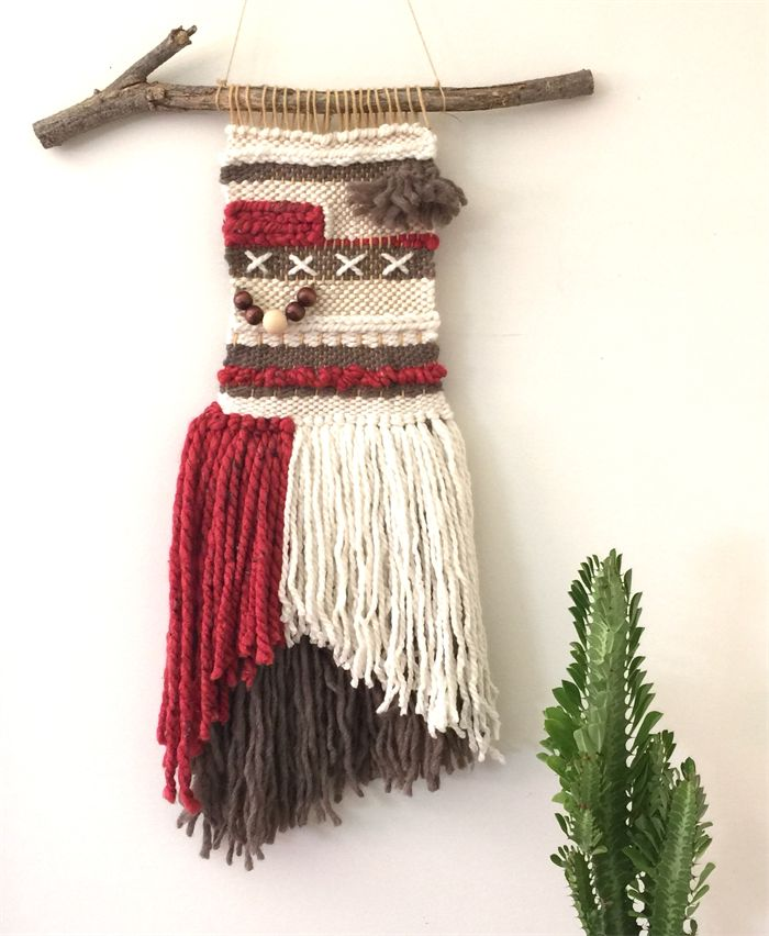 A Dor able Design || wall hanging || weave || wall decor || wall art ||