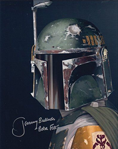 Jeremy Bulloch (Star Wars Boba Fett) signed 8x10 photo @ niftywarehouse.com #NiftyWarehouse #Geek #Products #StarWars #Movies #Film