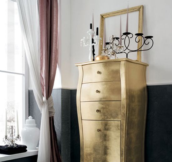 silver and gold painted furniture | ReNew ReDo!: Gold, Silver, and Gilver... Furniture Inspiration AND Rub ...
