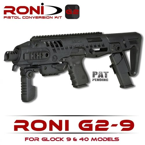 CAA RONI G2-9 Glock Pistol to Carbine Conversion Kit Chassis Stock