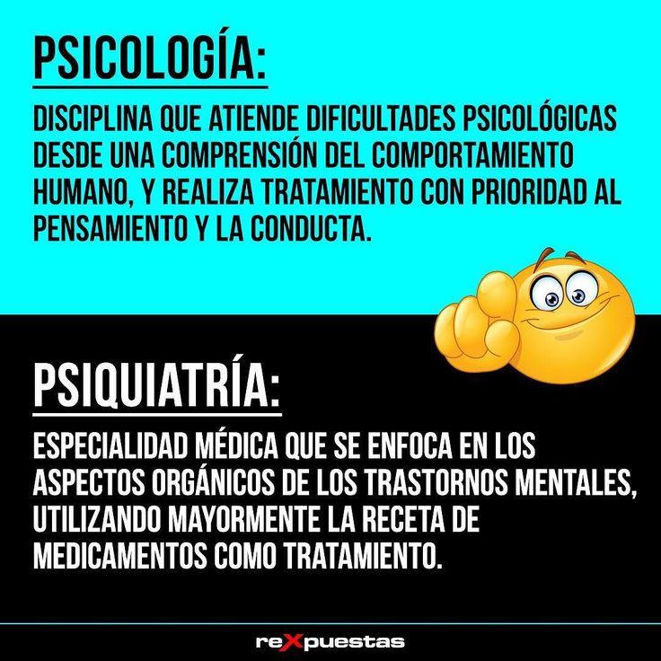 Los psiquiatras atienden a personas con problemas más graves que necesitan más que una orientación psicológica. Tanto los psicólogos como los psiquiatras trabajan para ayudar a mejorar la salud mental de la persona. #Diccionario#NoEsLoMismoNiEsIgual