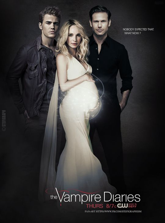 An accurate fan made poster for TVD Season 7 {by @pinterestparia}