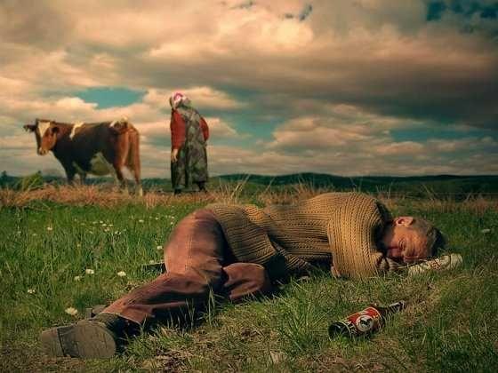 Modern 'Chełmoński' - Socialist Hopelessness