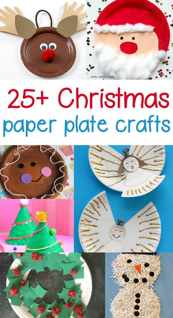 Paper Plate Christmas Crafts Kindergarten Christmas Crafts Preschool Crafts Paperplate Christmas Crafts